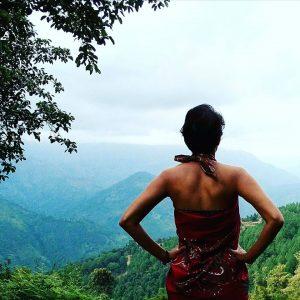 Me, Nepal, View