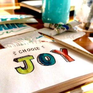 choose joy painting