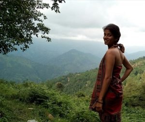 me in hilly nepal