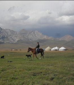 horsebackriding in Kyrgyzstan
