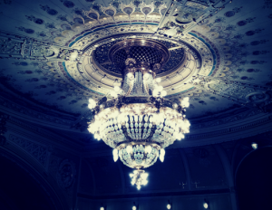 chandelier in DJKT PIlzn